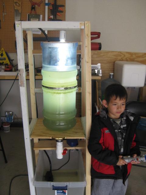 Test algae Bioreactor