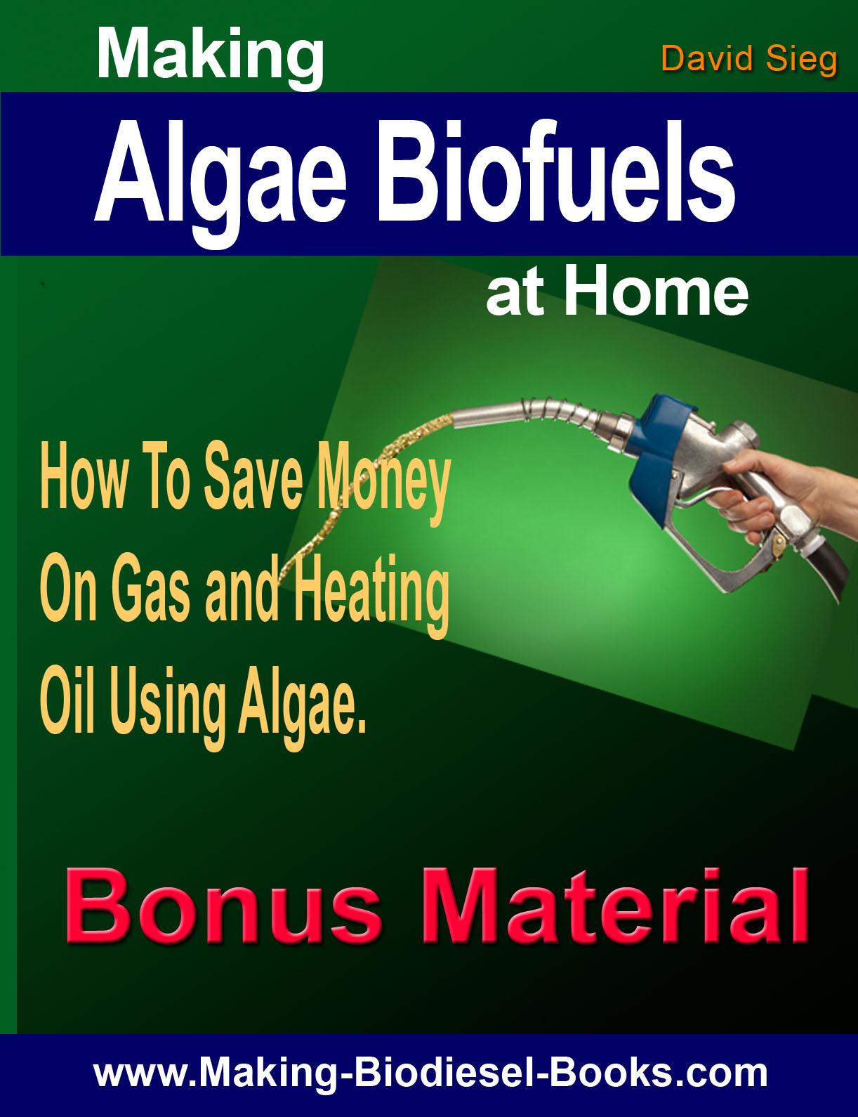 algae biofuels bonus material