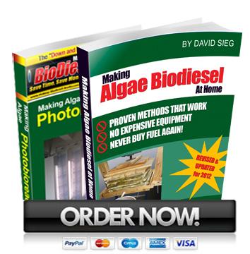 PBR + algae biodiesel books