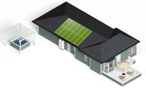 residential algae architecture