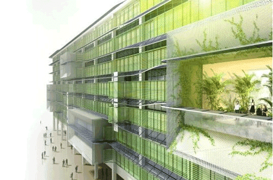 residentail algae architecture